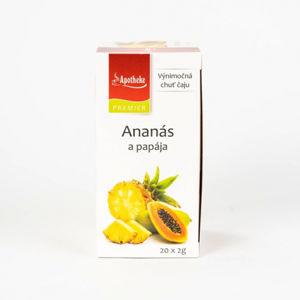 APOTHEKE Ananas a papája 20 x 2 g