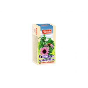 Apotheke čaj ECHINACEA S GINKGOM 20 x 1,5 g