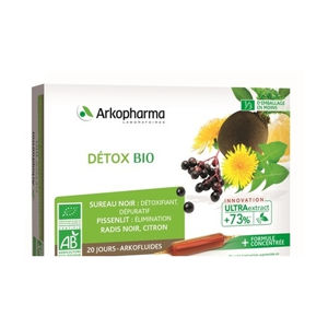 Arkofluid Detox BIO 20 x 10 ml