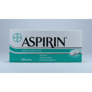 Aspirin 20 tabliet