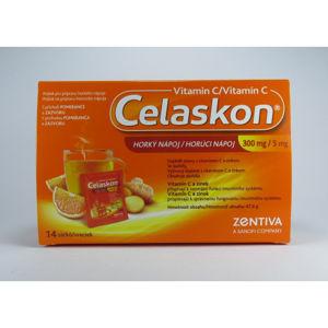 Celaskon horúci nápoj Vitamin C 300mg 14 sáčkov