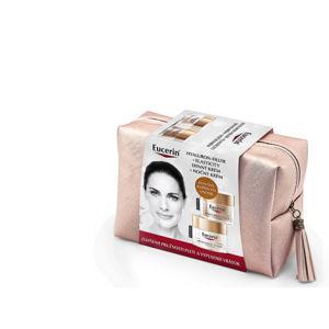 Eucerin Hyaluron-Filler + Elasticity denný krém 50 ml + nočný krém 50 ml + kozmetická taška darčeková sada