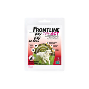 Frontline Tri-act Spot-on XL 40-60 kg 1 kus