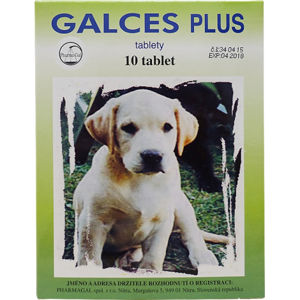Galces plus tablety 10 tbl