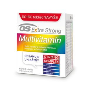 GS Extra Strong Multivitamín 60 + 60 tbl