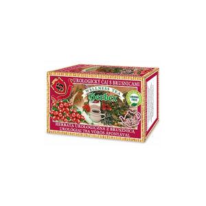 Herbex UROLOGICKÝ čaj S BRUSNICAMI bylinný čaj 20 x 3 g