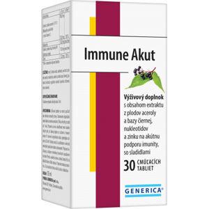 Immune Akut 30 cmúľacích tabliet
