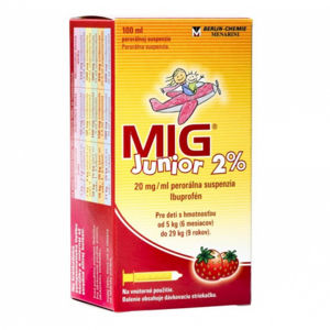 MIG Junior 2% sus.por.1 x 100 ml