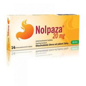 Nolpaza 20 mg 14 tbl