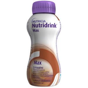 NUTRIDRINK MAX  s príchuťou čokoládovou 4x300 ml