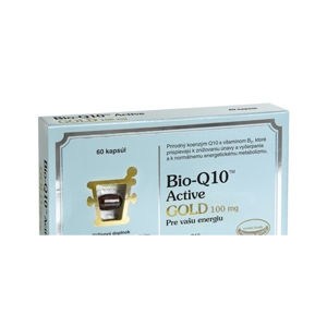Pharma Nord Bio-Koenzým Q10 Active Gold 100mg 60cps