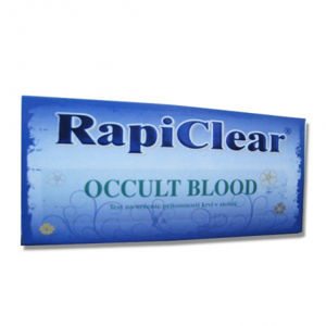 RapiClear occult blood test 1 set