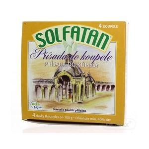 Solfatan prísada do kúpeľa v prášku 4 x 100 g