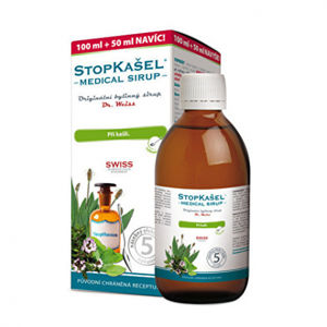 STOPKAŠEL sirup Dr Weiss 100 + 50 ml